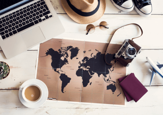 10 Props for your Travel Flatlays with Bonus Ideas
