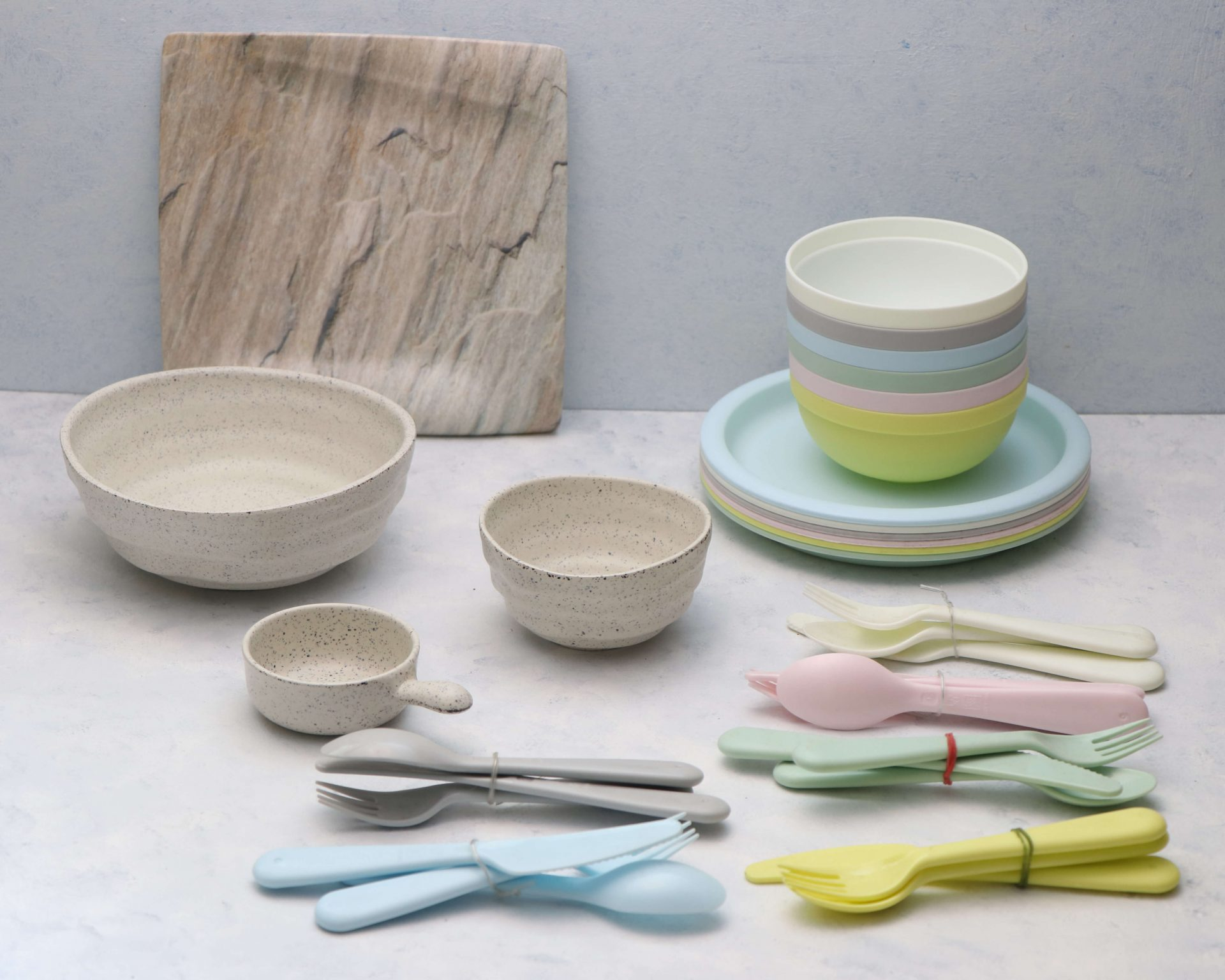 Melamine and Matte Props on rent- Pune Prop Store