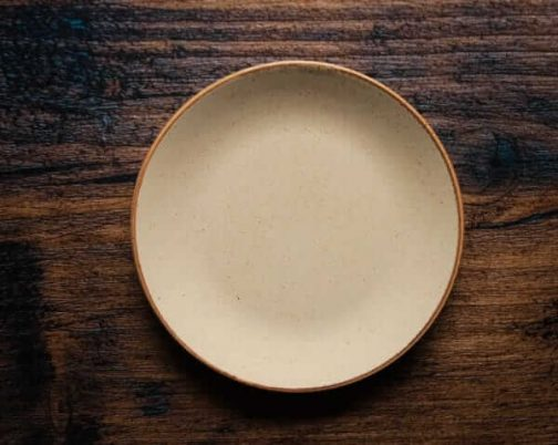 Beige Plate for Photography- Pune Prop Store