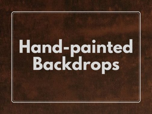 Hand-painted backdrops- canvas- mdf- Pune Prop Store