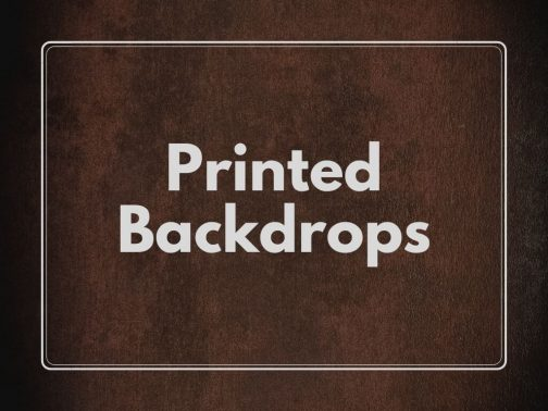 Printed backdrops- Fabric- Vinyl- Pune Prop Store