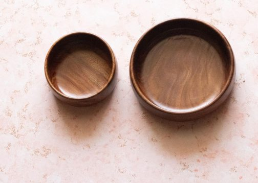 Sheesham bowls set- Wooden Snack bowls- Pune prop store