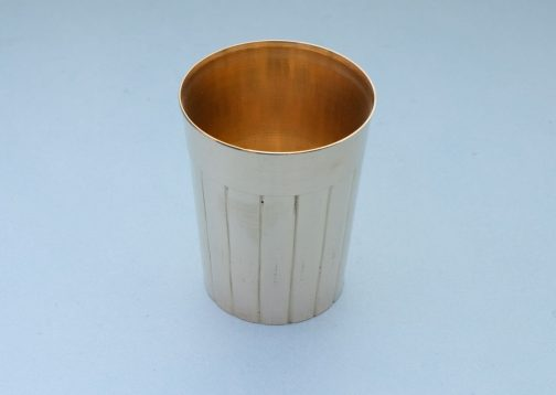 Brass Cutting Chai Glass- Pune prop store