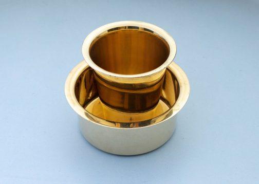 Brass Filter Coffee Set- Davara Set- Pune prop store
