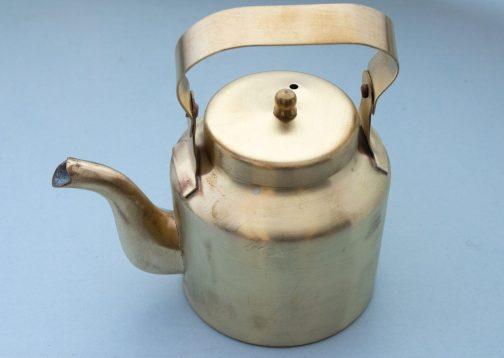 Brass Teapot- Brass kettle- Pune prop store