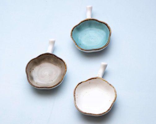Floral dip bowls- Chip and dip set