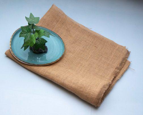 Jute napkins for photography- Raw jute napkin- Pune prop store