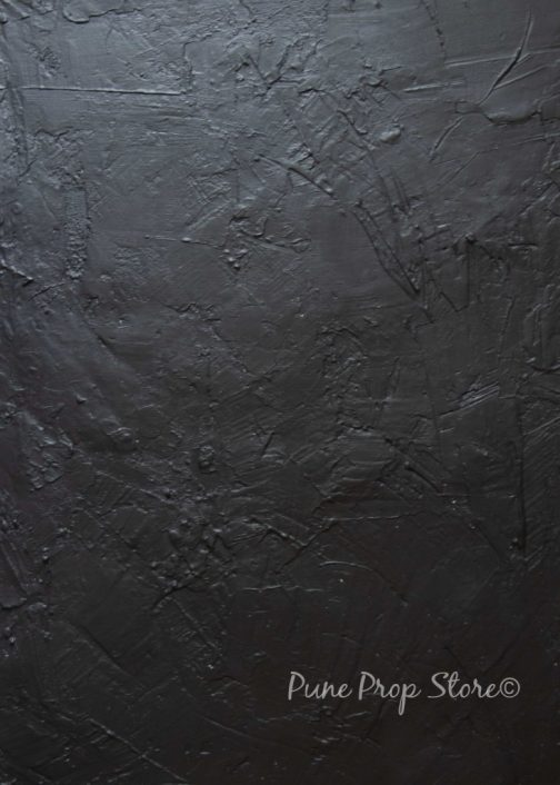 Lava Rock hand-painted backdrop for photography- Pune prop store