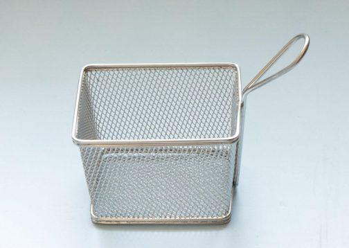Steel basket- Fries serving basket- Pune prop store