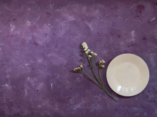 Purple hand painted MDF board- Photography backdrops
