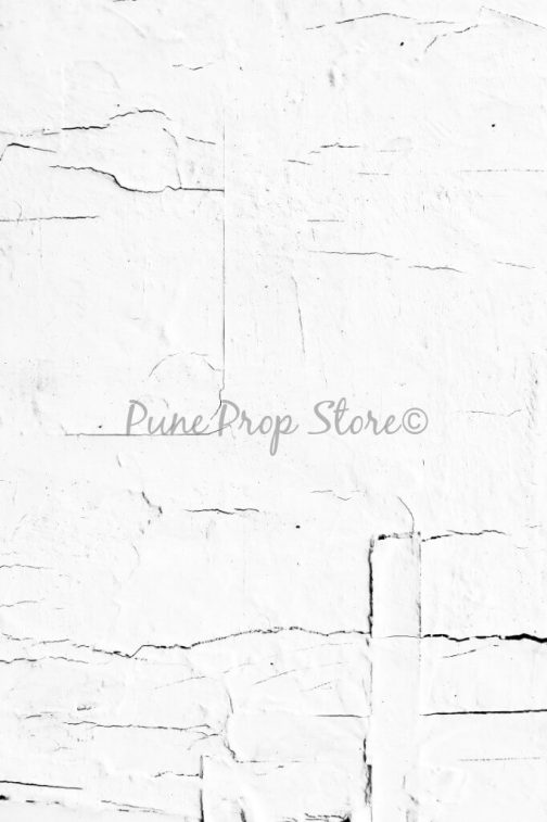 Pune Prop Store- Cracked Wall Printed Backdrop For Photography