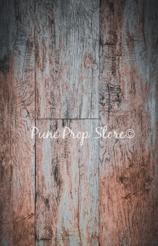 Pune Prop Store- Rustic Wood Printed Backdrop For Photography