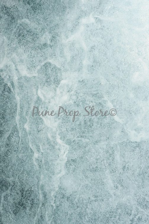 Blue Cascade Printed Backdrop For Photography - Pune Prop Store