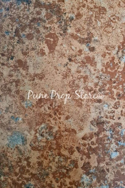 Iron Rust Printed Backdrop For Photography- Pune Prop Store