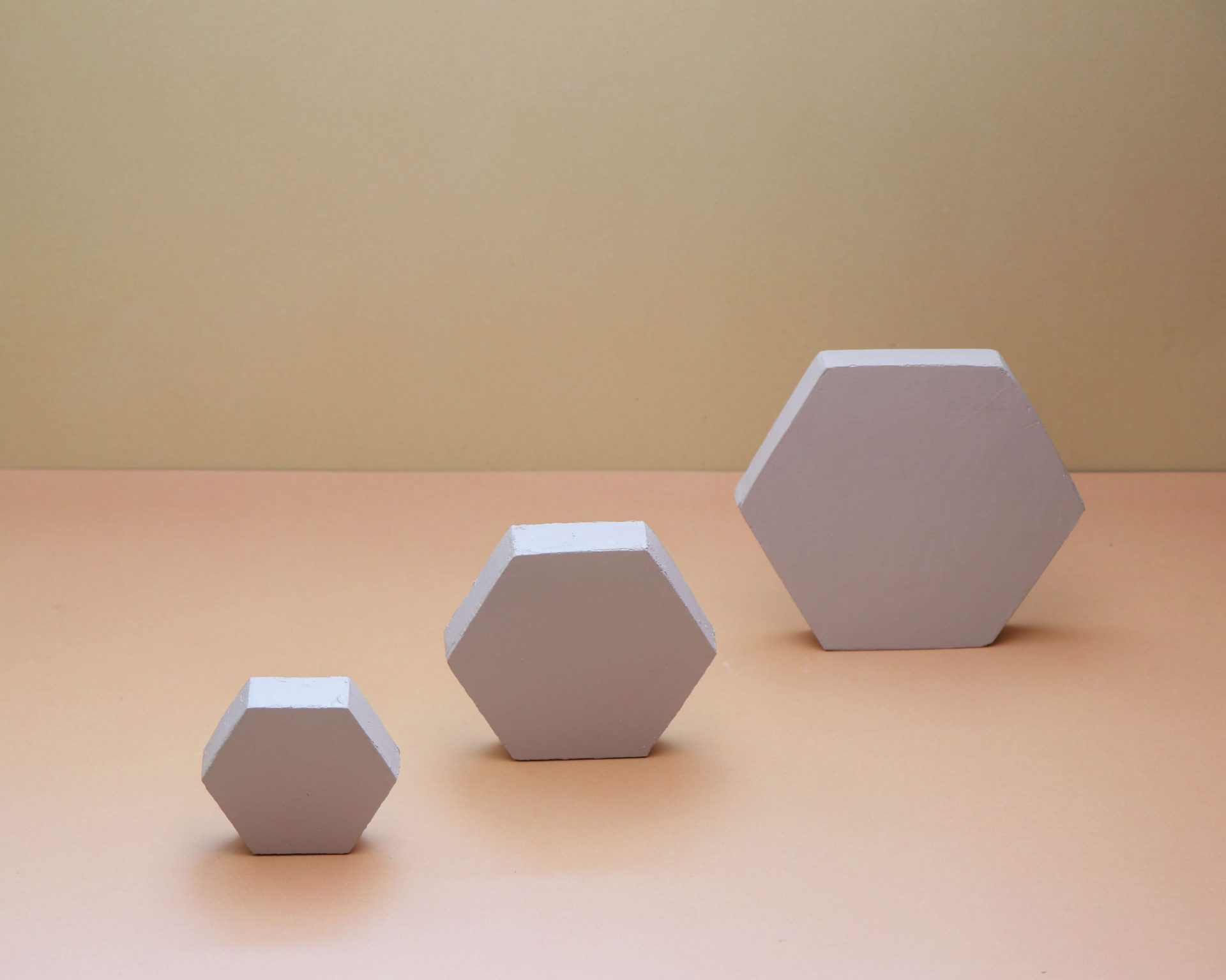 Hexagon Product Photography Risers - Pune Prop Store